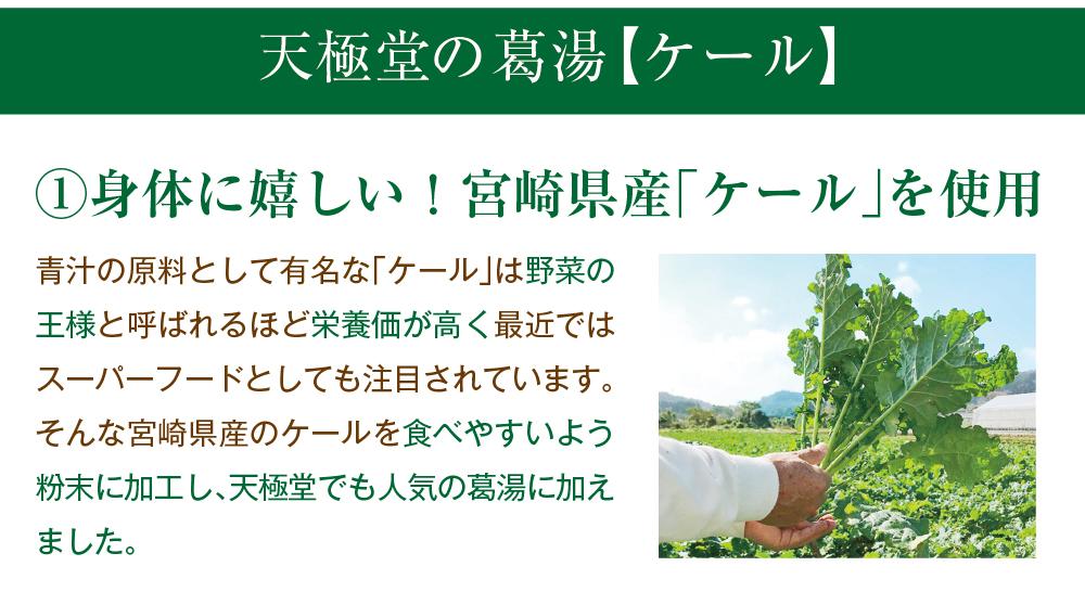 ケール葛湯5袋入商品トップ3