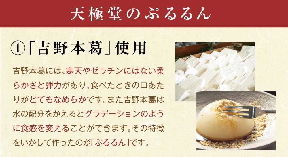 ぷるるん四種類商品トップ3