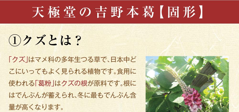 吉野本葛固形商品トップ3